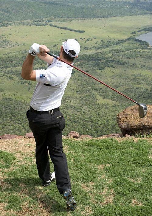 Crazy golf (2 pics + 1 video)