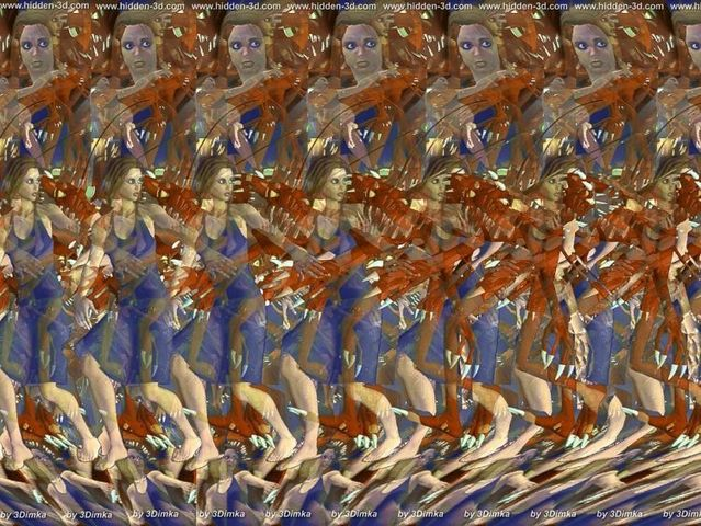 Stereograms To See Hidden 3D Images 30 Pics - Izismilecom-8046