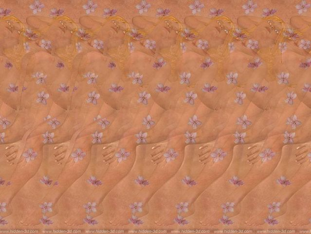 Stereograms to see hidden 3D images (30 pics)