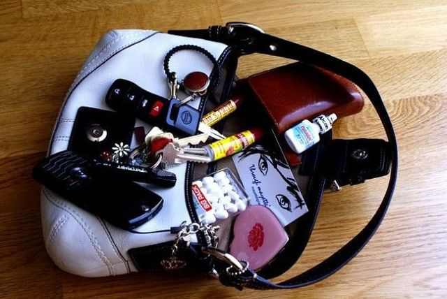 Secrets of women's handbags (50 pics)