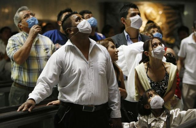 New virus has appeared. It's called Swine flu (21 pics)