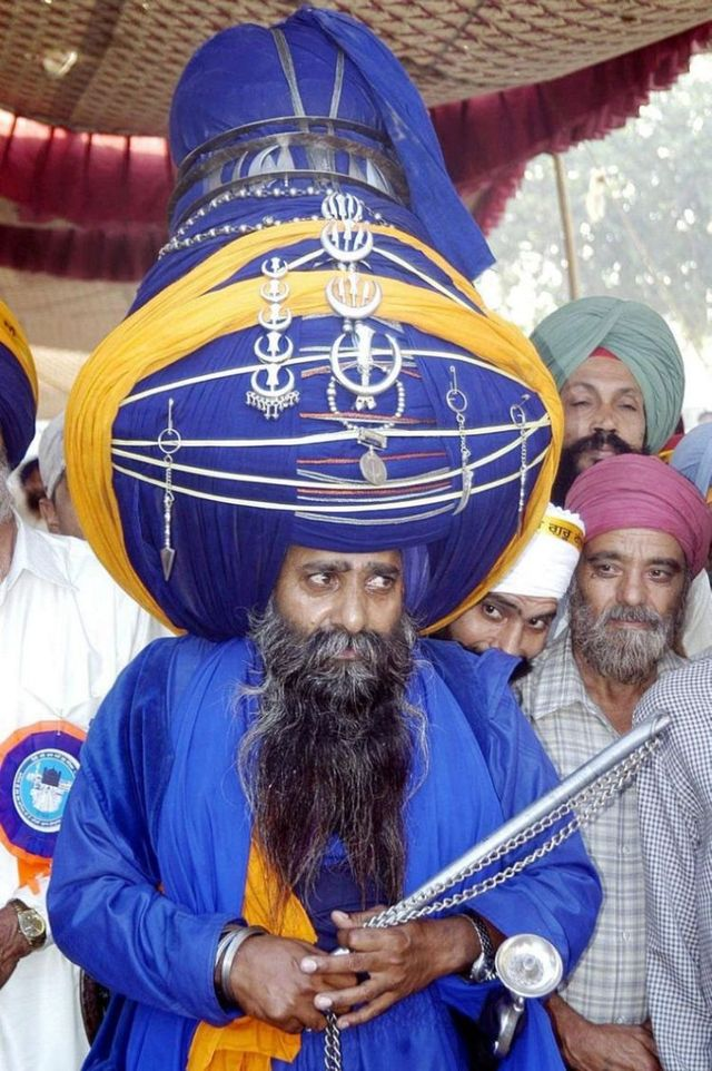 Big turbans (13 pics)