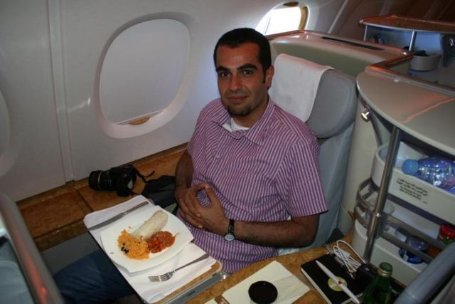 On board Emirates A380 (41 pics)