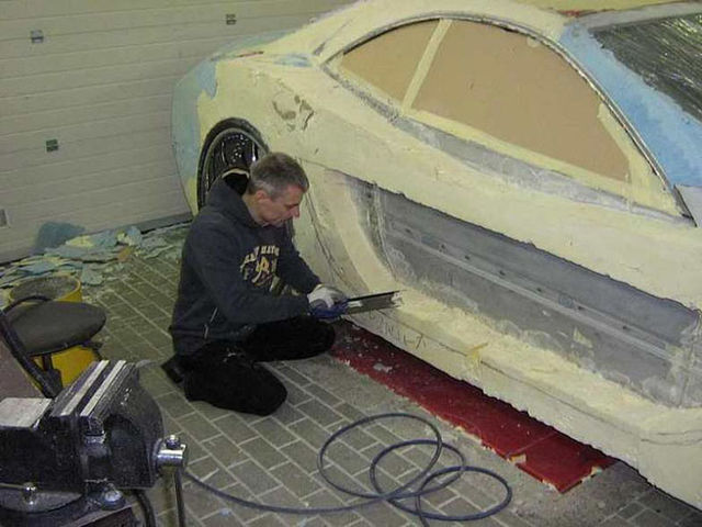Car made with polyurethane foam (34 pics)