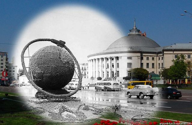 Great superimposed pictures of Kiev (10 pics)
