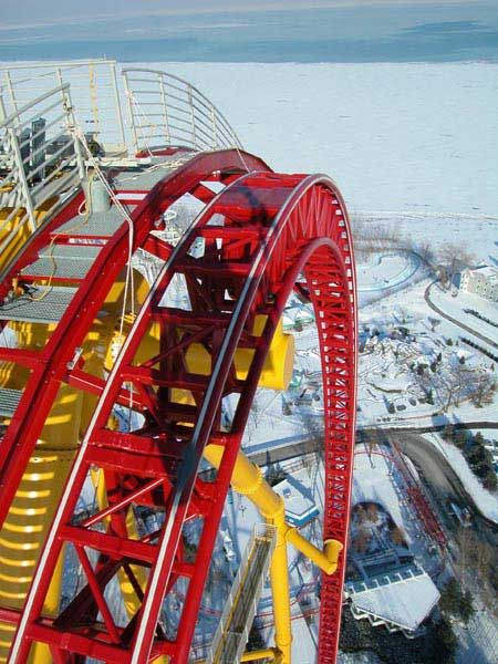 What could happen if you take a ride at New Ohio Roller Coaster? (7 pics)