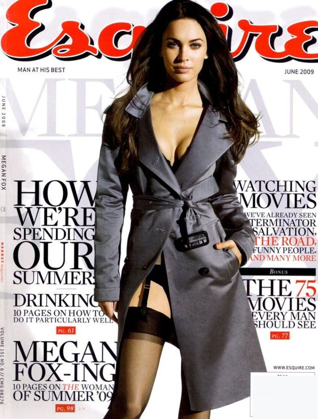 Megan Fox dans in Esquire magazine (6 pics)