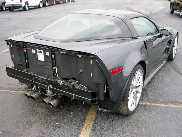 Corvette ZR1 was sold on Ebay for $ 97.5 thousand (28 pics)
