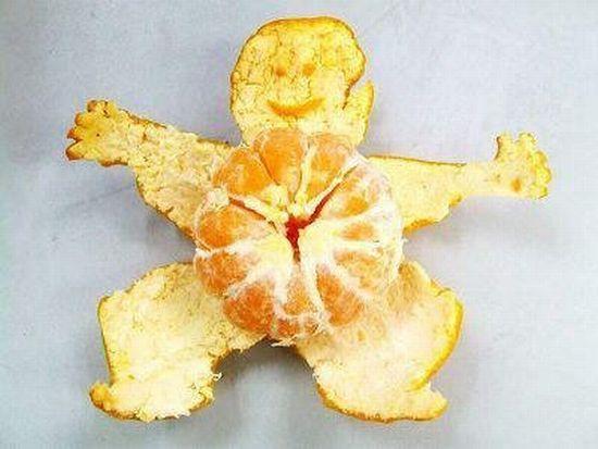 Orange man (11 pics)