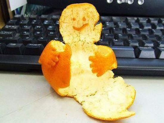 Orange man (11 pics)