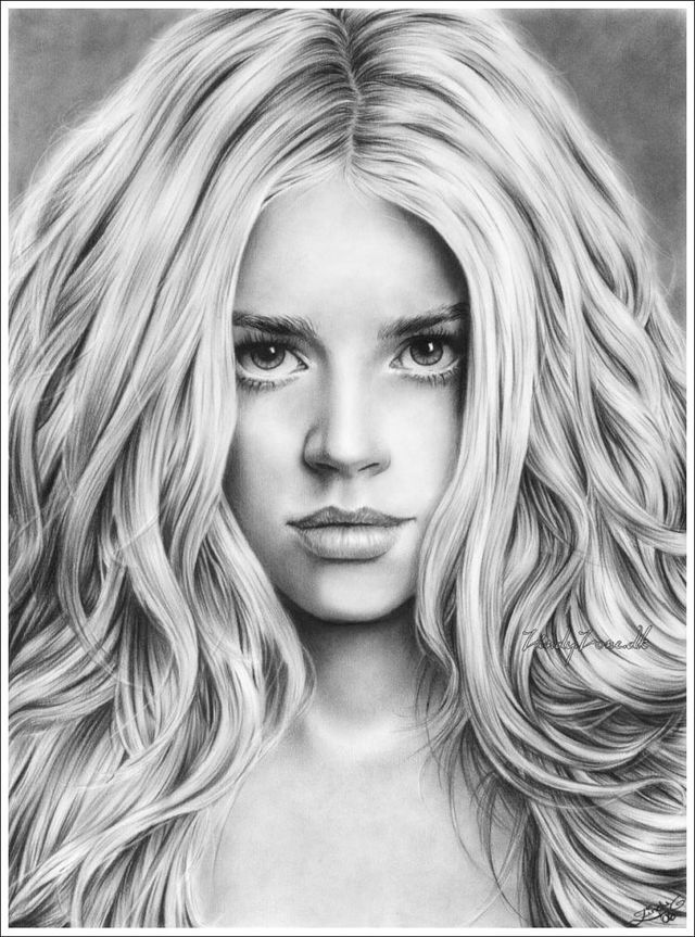 Stunning pencil drawings (53 pics)