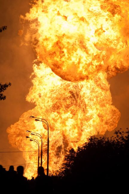 Huge gas explosion in Moscow (29 photos+1 video ...