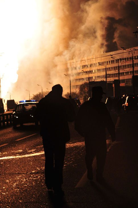 Huge gas explosion in Moscow (29 photos+1 video)