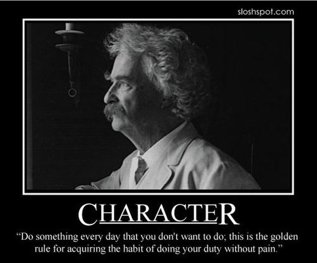 Mark Twain motivational posters (14 pics)