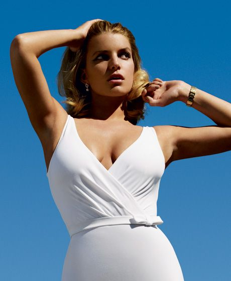 Jessica Simpson, once in her best shape (22 pics)