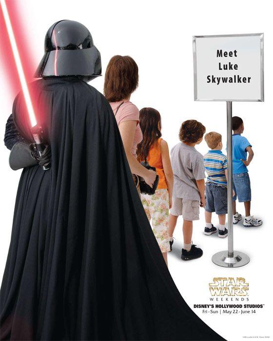 Great Disney Star Wars Weekend Posters (13 pics)