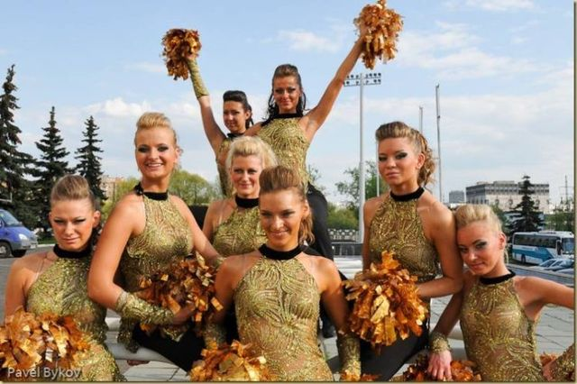 Russian cheerleading girls (66 pics)