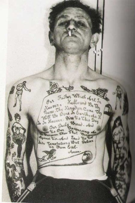 Tattoos from the past (29 pics)