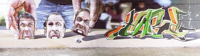 Graffoto: photorealistic graffiti (19 pics)