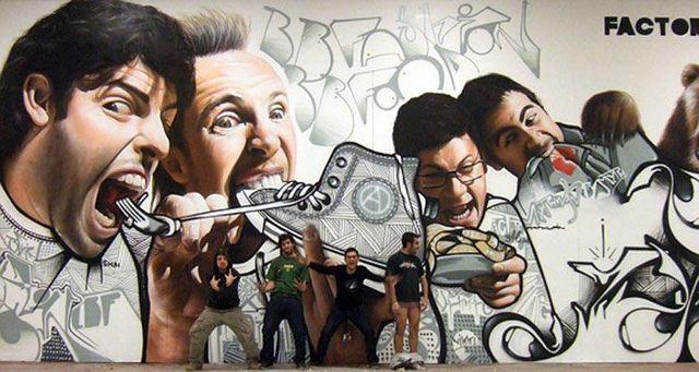 Graffoto: photorealistic graffiti (19 pics)
