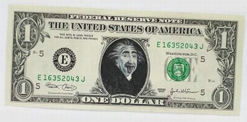 Art with dollars (25 pics)
