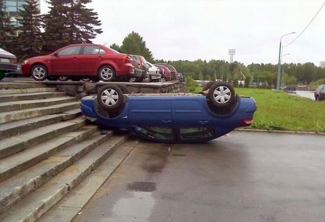 Good way of parking (16 pics)