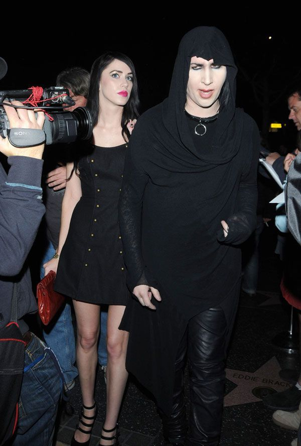 marilyn manson girlfriends