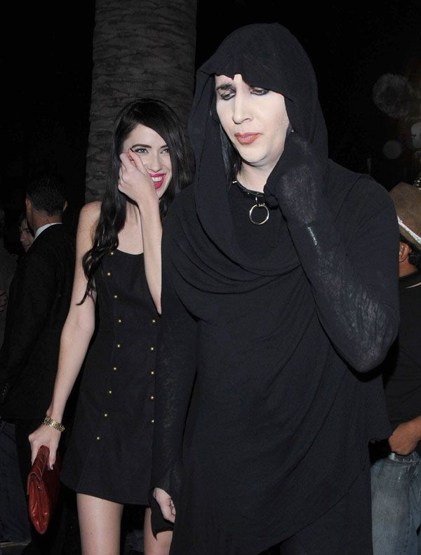 New Marilyn Manson's girlfriend (6 pics)