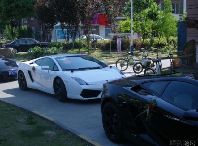 """Wedding of a Chinese """"oligarch"""" (28 pics)"""