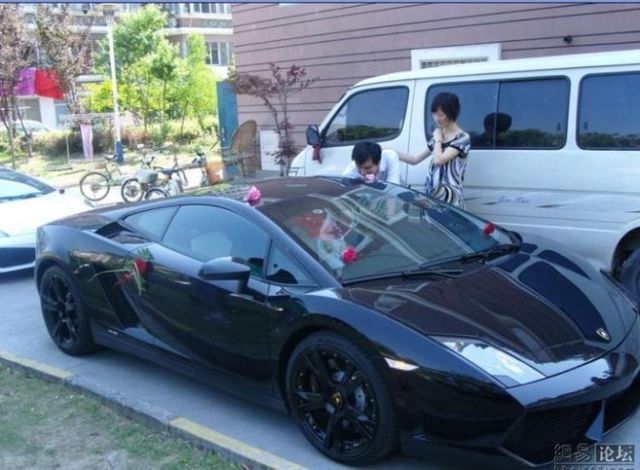 "Wedding of a Chinese ""oligarch"" (28 pics)"