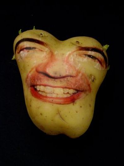 Potatoes can have faces (20 pics)