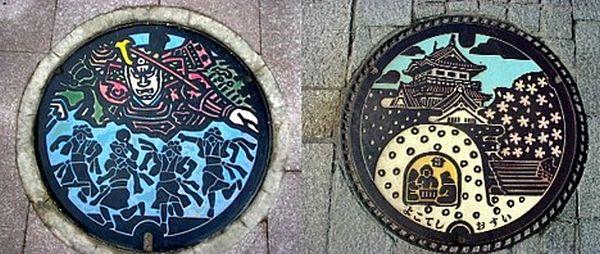 Amazing Japanese manholes (10 pics)