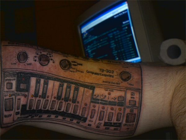 Synthesizer tattoos (12 pics)