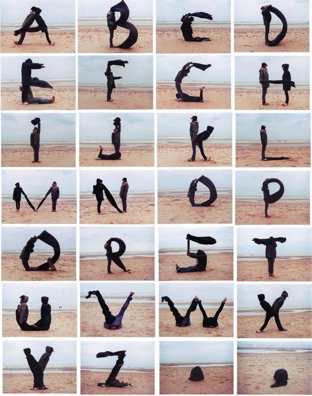 Alphabet is everywhere (22 pics)