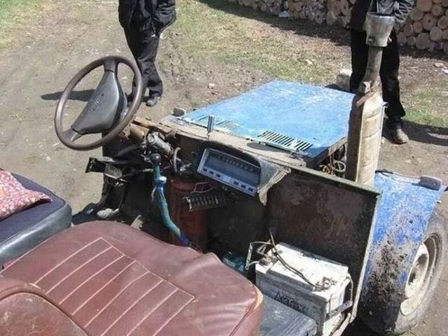 Russian SUV (6 pics)
