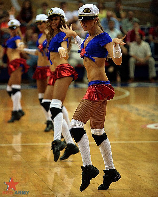 Russian cheerleaders. Part 2 (61 pics)