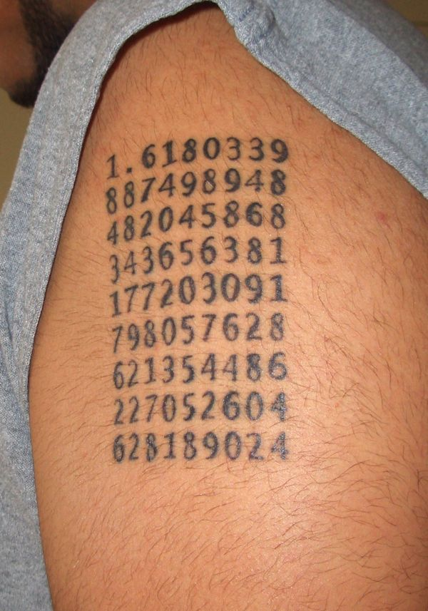 Scientific tattoos (62 photos)