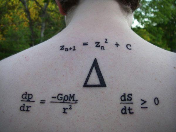 Scientific tattoos (62 photos)