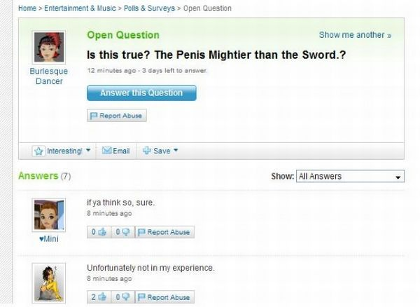 The best from Yahoo answers! (35 pics)