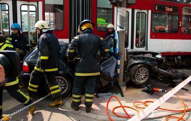The accident in Tallinn (24 photos)