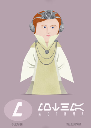Caricature Star Wars characters (17 pics)