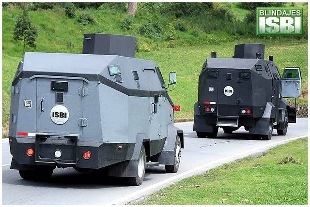 Riot Vehicle with Water Cannon - used in Colombia (12 pics)