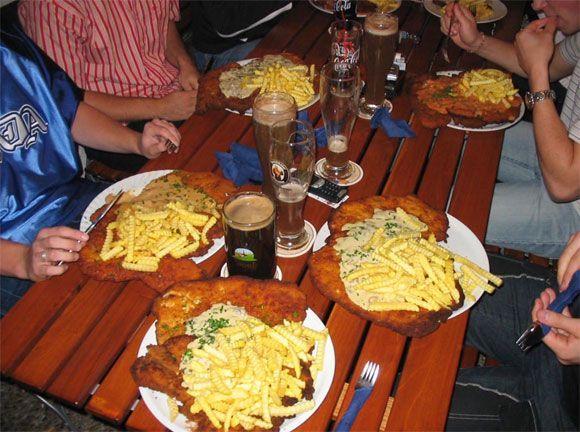 Schnitzel – quite a big Austrian dish (9 pics)