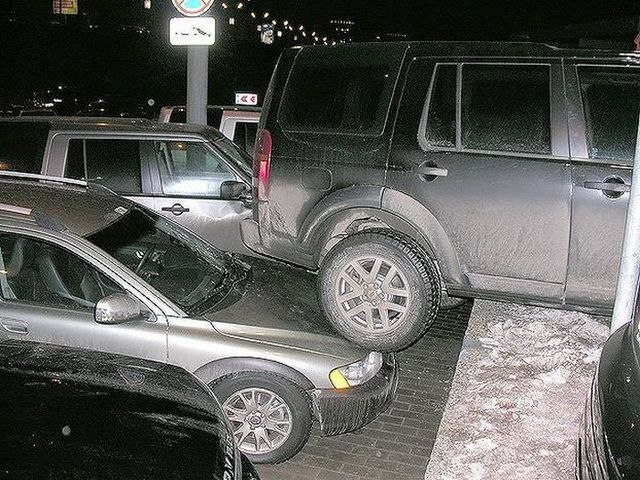 The girl was parking ... (5 pics)