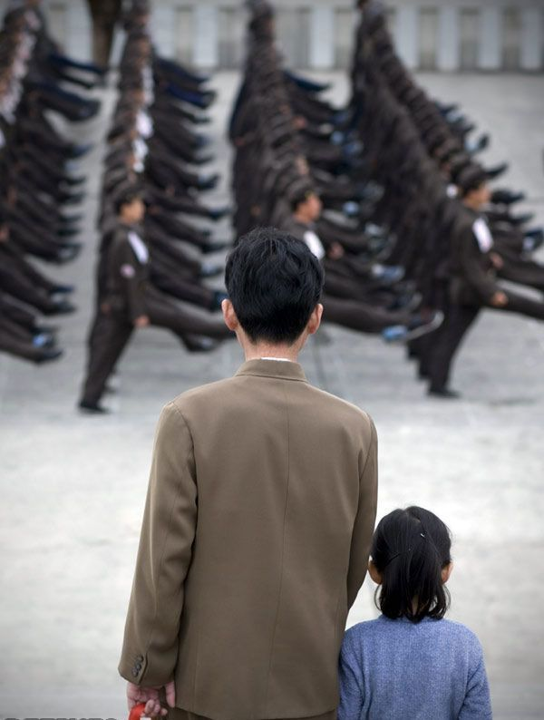 The army of North Korea (33 photos)