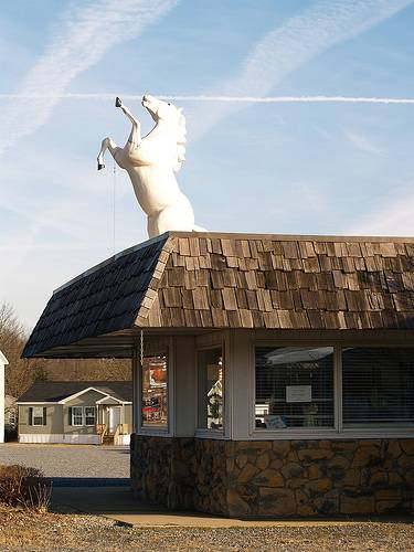 18 buildings with something on their roofs (18 pics)