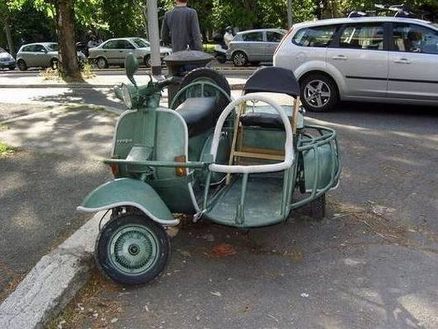 The most ridiculous Side Carts in the world (48 photos)