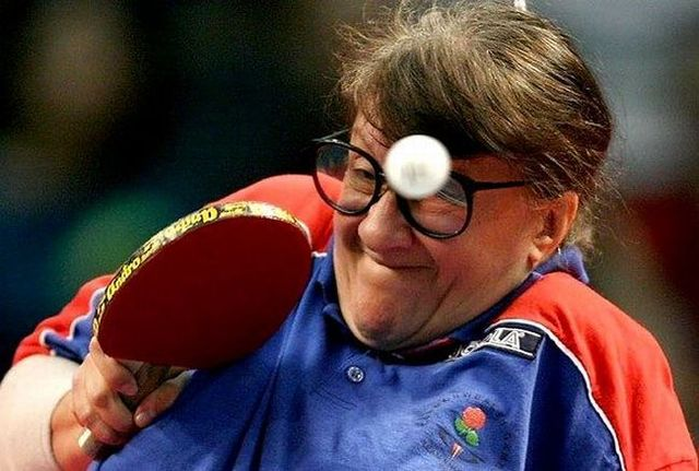 Funny faces of athletes (50 pics)