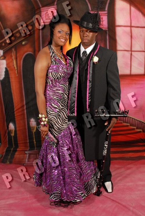 Ghetto style prom (10 pics)