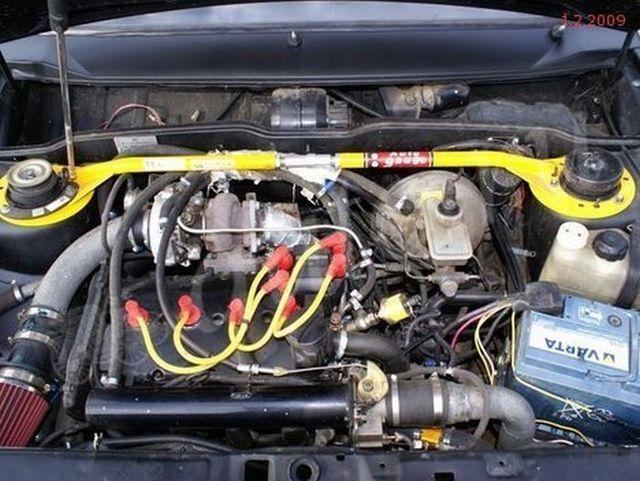 Supercar VAZ 21099i (8 pics)